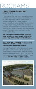 InfoTap Brochure - City of Welland - Page 5