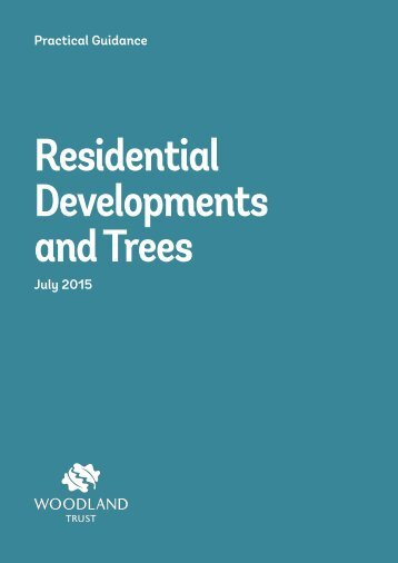 Residential Developments and Trees