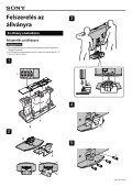 Sony KDL-46W2000 - KDL-46W2000 Istruzioni per l'uso Ungherese - Page 3