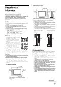 Sony KDL-26U2530 - KDL-26U2530 Istruzioni per l'uso Ceco - Page 7