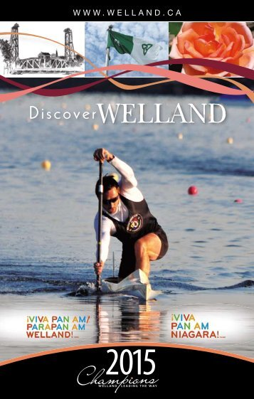 Welland's Visitor Guide - City of Welland