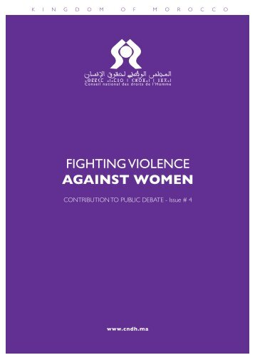 FIGHTING VIOLENCE AGAINST WOMEN