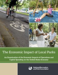 The Economic Impact of Local Parks
