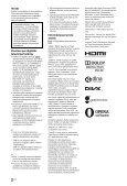 Sony KDL-40EX653 - KDL-40EX653 Istruzioni per l'uso Lettone - Page 2
