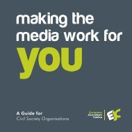 A Guide for Civil Society Organisations