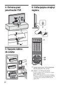 Sony KDL-52X2000 - KDL-52X2000 Istruzioni per l'uso Slovacco - Page 6