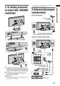 Sony KDL-52X2000 - KDL-52X2000 Istruzioni per l'uso Ungherese - Page 5