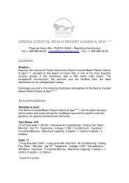 sirenis cocotal beach resort casino & spa - Sirenis Hotels & Resorts