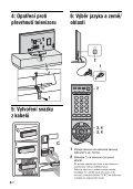 Sony KDL-52X2000 - KDL-52X2000 Istruzioni per l'uso Ceco - Page 6
