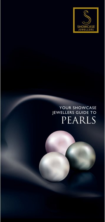 Showcase Jewllers World of Pearl brochure