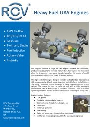 Heavy Fuel UAV Engines