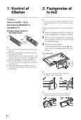 Sony KDL-42EX443 - KDL-42EX443 Istruzioni per l'uso Danese - Page 4