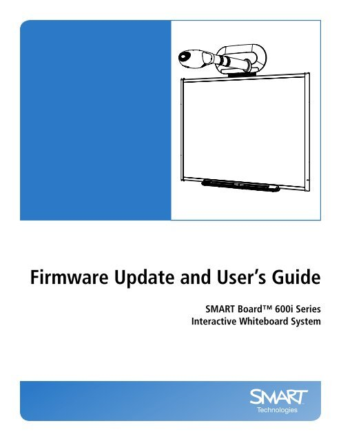 SMART Board 600i Interactive Whiteboard System Firmware