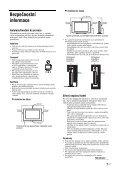 Sony KDL-20S4000 - KDL-20S4000 Istruzioni per l'uso Ceco - Page 7