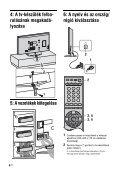 Sony KDL-46X2000 - KDL-46X2000 Istruzioni per l'uso Ungherese - Page 6