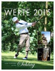 Magazin WERTE 2015 - 2. Ausgabe