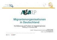 Migrantenorganisationen in Deutschland