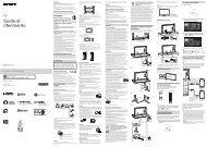 Sony KD-49X8505B - KD-49X8505B Guida di riferimento Italiano