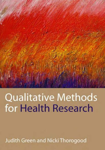 171206605-Green-Thorogood2004-Qualitative-Methods-for-Health-Research