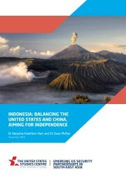 INDONESIA BALANCING THE UNITED STATES AND CHINA AIMING FOR INDEPENDENCE