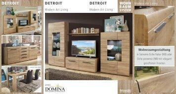 Wohnraumsystem Detroit