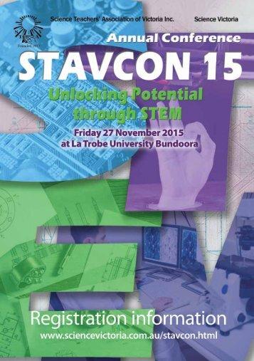 STAVCON 2015 Registration Information