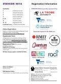 STAVCON 2015 Registration Information - Page 2