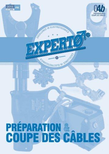 Experto 04b-Préparation et Coupe des câbles