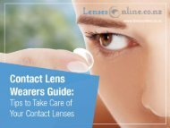 Tips to Take Care of Your Contact Lenses