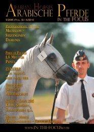 Arabische Pferde IN THE FOCUS Nr. 3/2015 ( Vol.3)