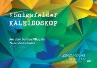 Königsfelder Kaleidoskop 2015