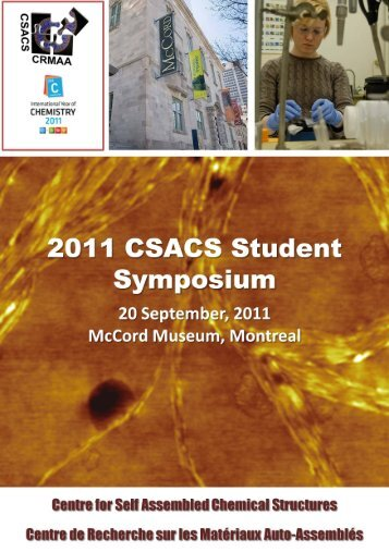 Booklet - csacs - McGill University