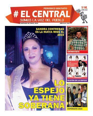 #EL CENTRAL NOVIEMBRE 2015