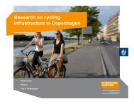 Research on cycling infrastructure in Copenhagen - Metro