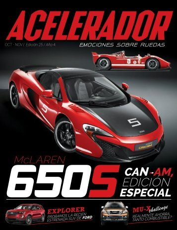 Revista Acelerador - Edición 25, Octubre-Noviembre 2015