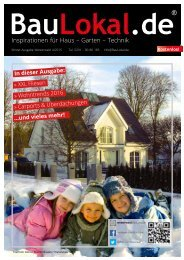 BauLokal.de - das Magazin Ausgabe 04-2015 Region Westerwald