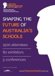 SHAPING THE FUTURE OF AUSTRALIA'S SCHOOLS