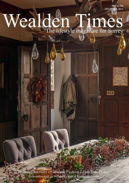 Surrey Homes | SH14 | December 2015 | Interiors supplement inside