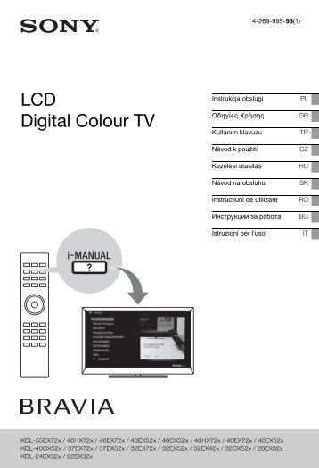 Sony KDL-46EX524 - KDL-46EX524 Istruzioni per l'uso Ungherese