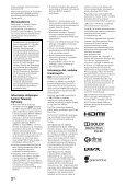 Sony KDL-46EX524 - KDL-46EX524 Istruzioni per l'uso Ungherese - Page 2