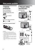 Sony KDL-40P2520 - KDL-40P2520 Istruzioni per l'uso Ceco - Page 4