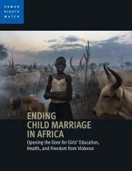 ENDING CHILD MARRIAGE IN AFRICA