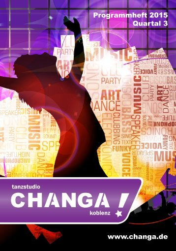 CHANGA! Programmheft - Quartal 3