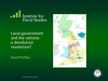 a devolution revolution?