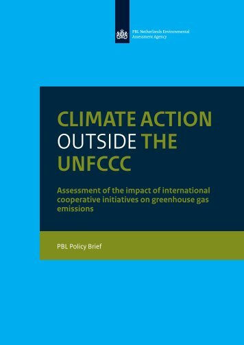 CLIMATE ACTION OUTSIDE THE UNFCCC