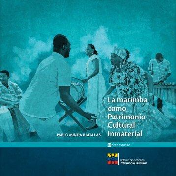 La marimba como Patrimonio Cultural Inmaterial