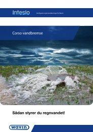 Corso vandbremse Sådan styrer du regnvandet!