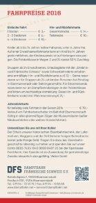 Fahrplan 2016 der Dampfbahn Fränkische Schweiz e.V. - Seite 4