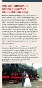 Fahrplan 2016 der Dampfbahn Fränkische Schweiz e.V. - Seite 6
