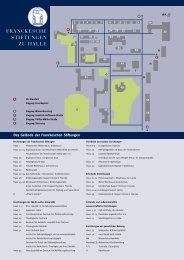 Die Franckeschen Stiftungen zu Halle - Franckesche Stiftungen